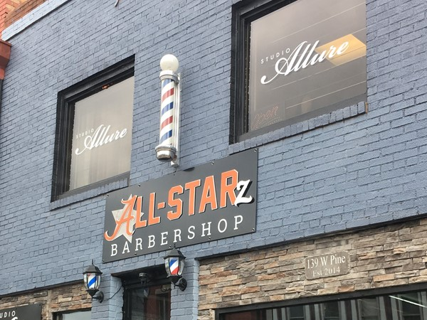 Looking for a fresh new haircut? Come on downtown to All-Starz Barbershop