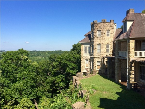 Don't miss the spectacular view looking out from Bothwell Lodge State Historic Site