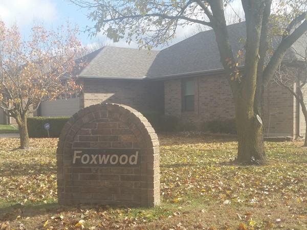 Foxwood subdivision