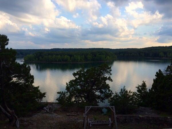 View of Table Rock Lake from Twin Rivers Road, Shell Knob