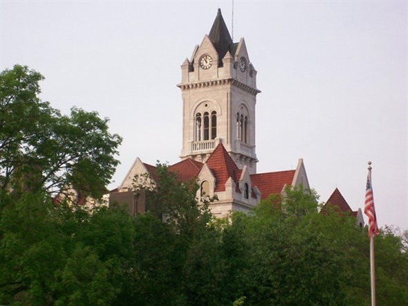 Cole County Courthouse in Jefferson City, the county seat