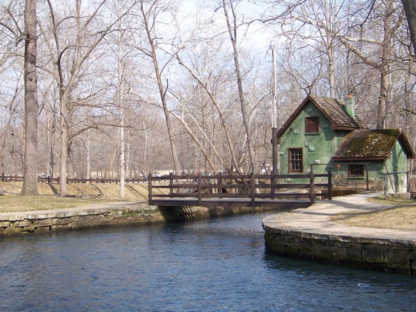 Maramec Spring State Park near St. James, Missouri