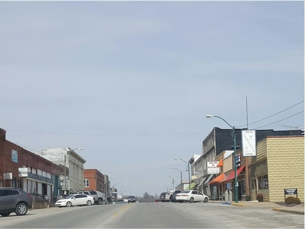 A view of Downtown Odessa