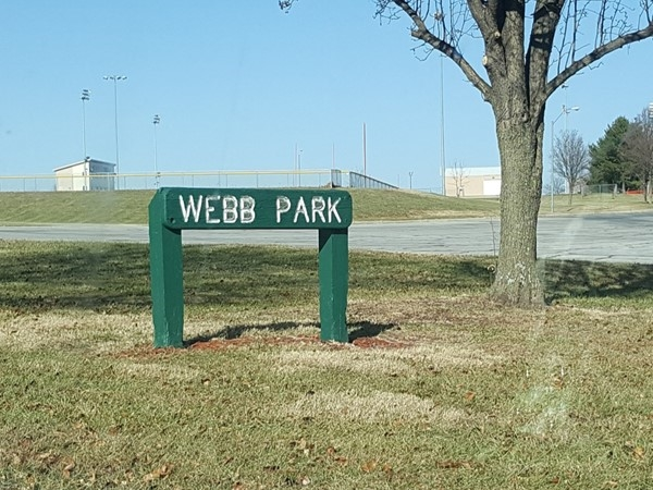 Welcome to Webb Park