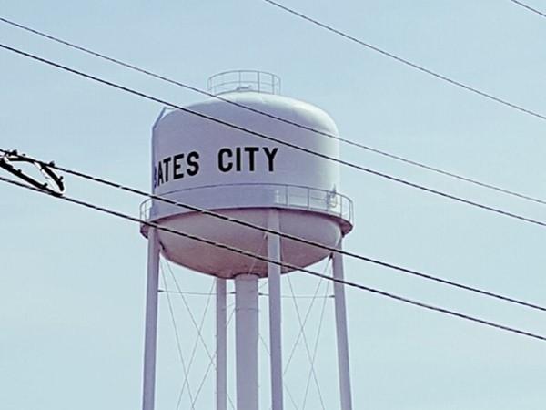 Bates City watertower