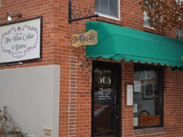 The Wine Cellar & Bistro, 505 Cherry Street, Columbia, MO - A Great Place to Eat