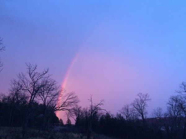 Rainbow over Taneycomo