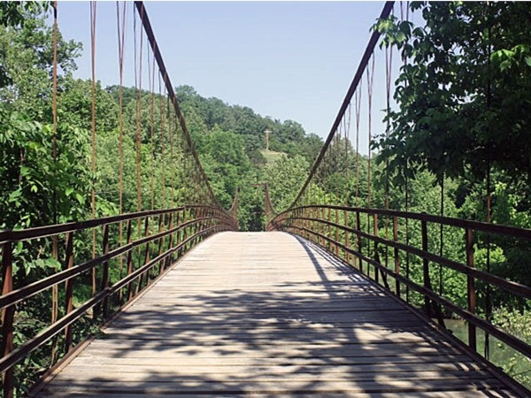 Beautiful! These swinging bridges are about an hour drive from Lebanon