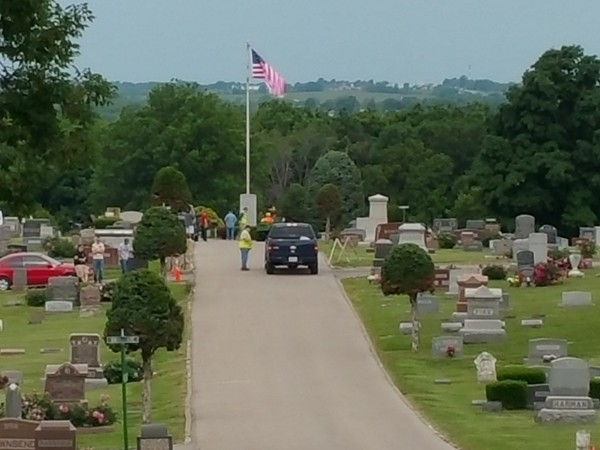 Sunset Hill Cemetery - Memorial Day weekend