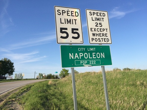 Small town charm in Napoleon