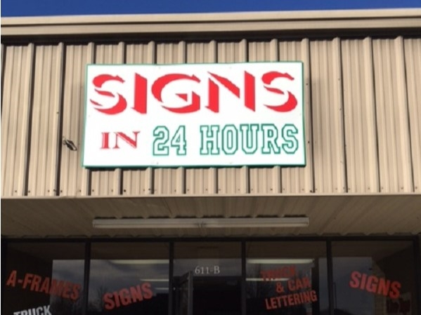 Signs in 24 hours