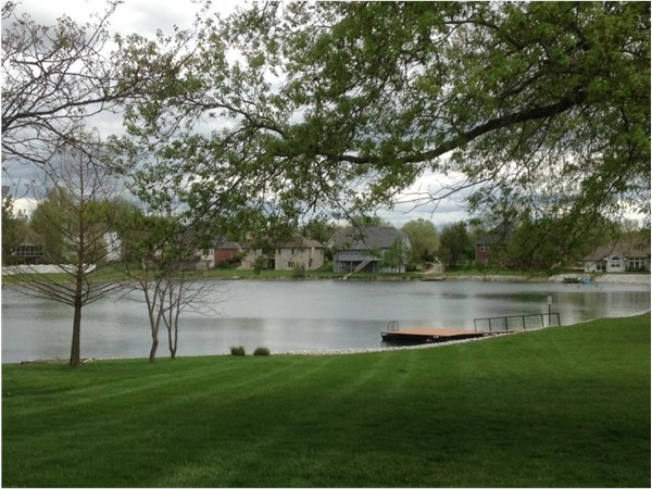 A wonderful neighborhood with character. It offers a serene lake for entertainment