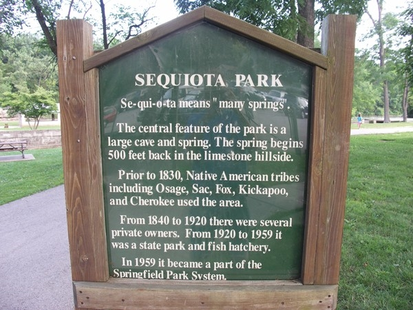 Sequiota Park in Springfield MO