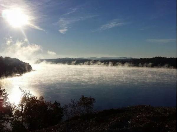 Morning's on beautiful Table Rock Lake at Needles Eye Road