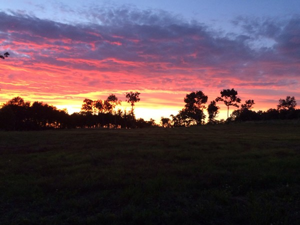 Sunset in Branson
