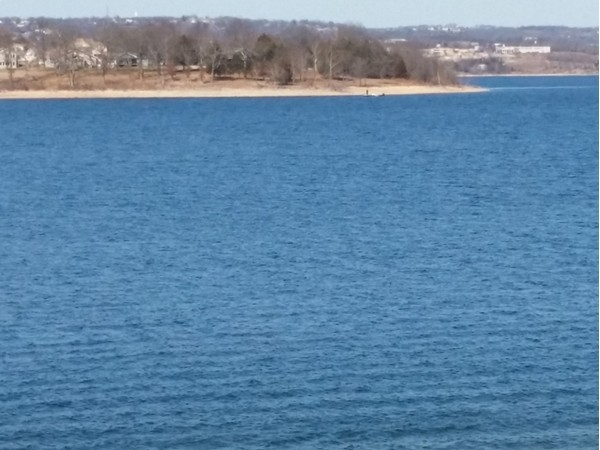 Beautiful day on Table Rock Lake