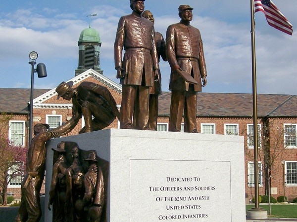 Soldiers Memorial, Lincoln University, Jefferson City MO.