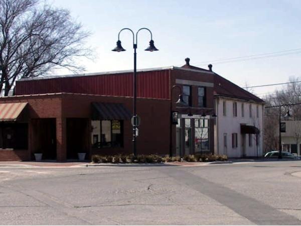 Southwest corner of the Ozark Square