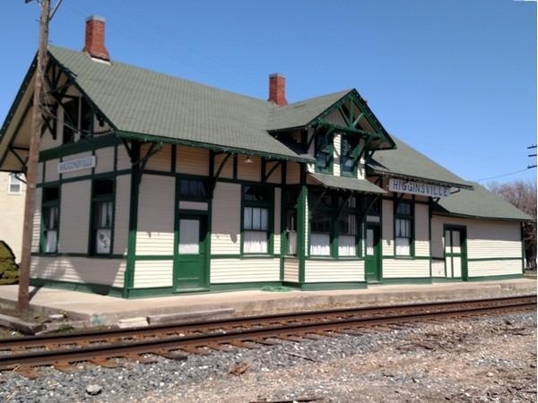 Higginsville's historic depot