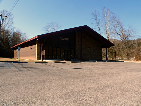 Although closed during the winter months, Roaring River has a great store during season