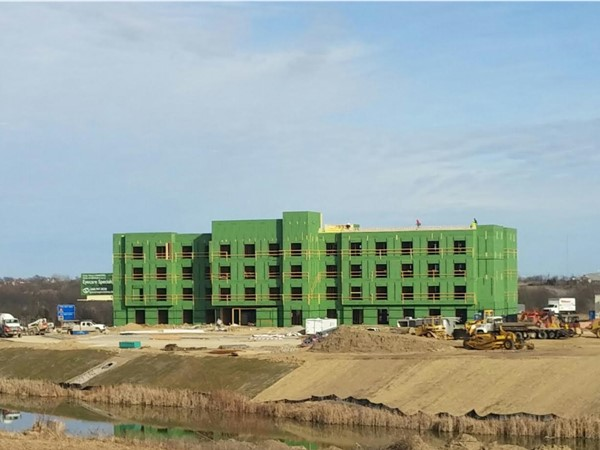 The newest location of Fairfield Inn in Warrensburg