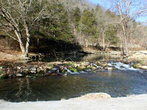 Roaring River is a beautiful place to visit year round