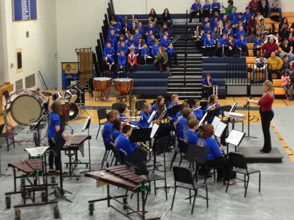Lafayette County C-1 School Middle School Band