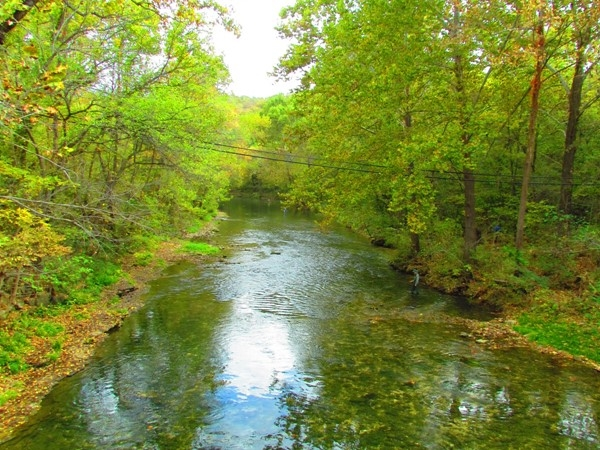 Beautiful, crystal clear Niangua River
