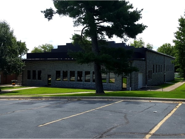 This is the middle school rock gym located on Main Street. Cassville schools resume August 17th