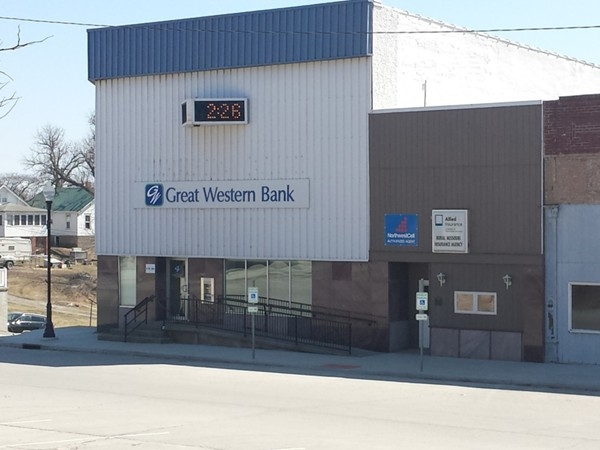 Great Western Bank and Rural Missouri Insurance.
