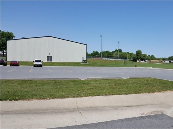 Cassville Highway School field house and practice field. We are very proud of our Wildcats
