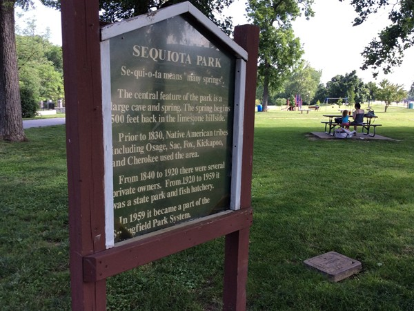 Sequiota Park - where the past and the present meet