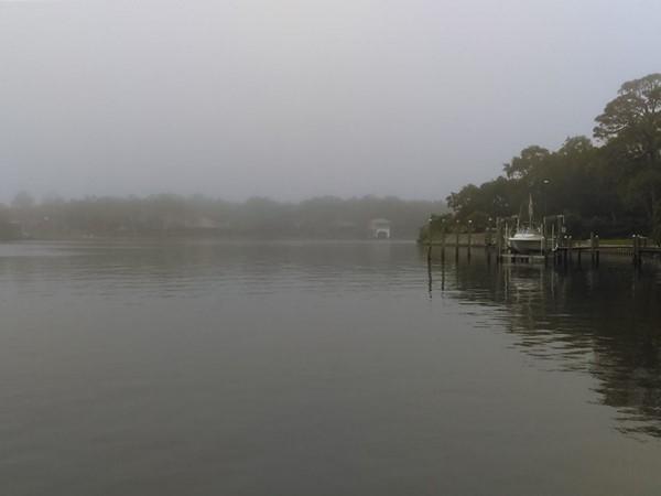 Wolf Bay on a foggy day