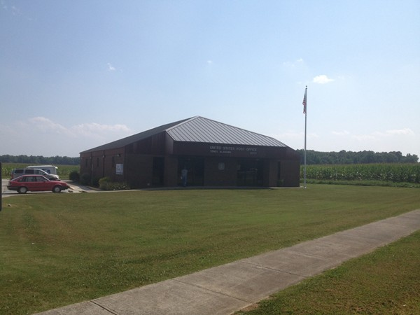 Post Office at Toney, AL