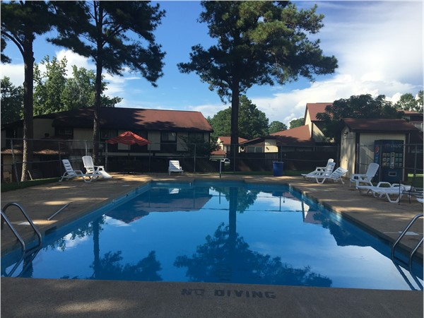The amenities at Indian Lake Condos include a pool, large lake, and a playground