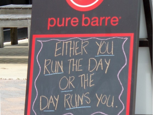 Pure barre in Old Cloverdale