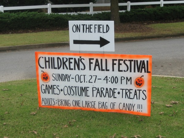 Fall Festival in Sterling Gate