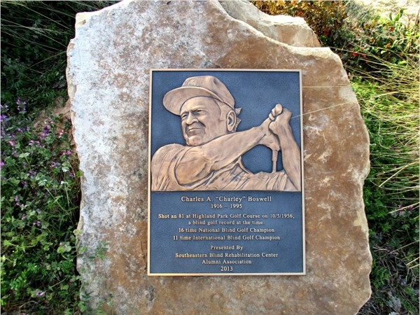 Charley Boswell Memorial at Boswell-Highland Golf Course
