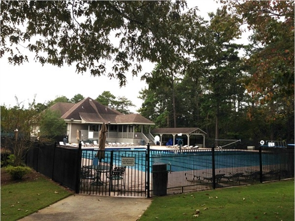Swimming Pool And Tennis Clubhouse At Riverchase Country Club