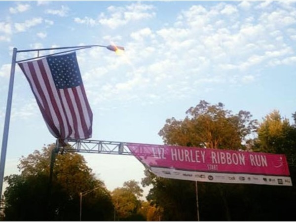 Great time supporting Breast Cancer Awareness at the Liz Hurley Ribbon Run this past weekend