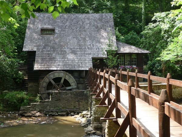 A little history in Mountain Brook - Shades Creek Old Mill House on Mountain Brook Parkway
