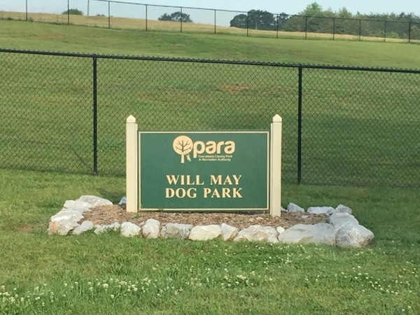 Will May Dog Park at Sokol Park