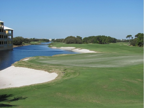 The golf course at Kiva Dunes.