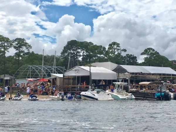 Pirate's Cove Marina & Restaurant on Arnica Bay