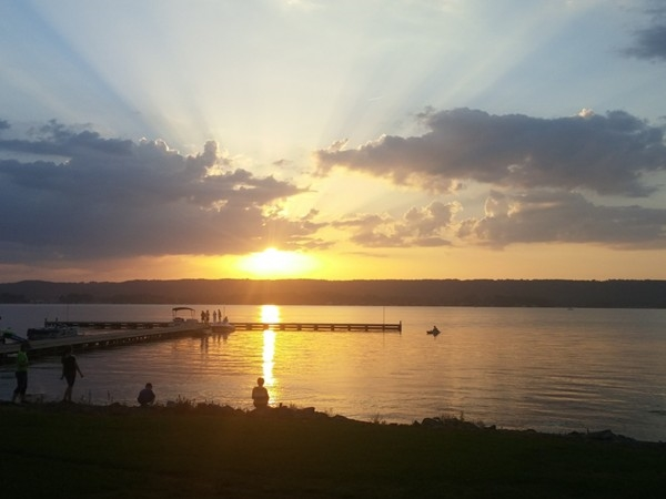 Come take in a sunset like this while enjoying a concert at the Civitan Park this summer