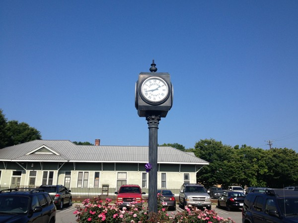 Clock outside the Probate Judge office