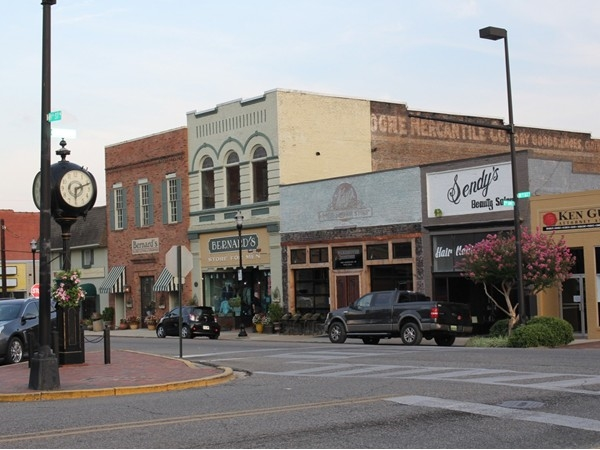 Downtown Jasper. Three great restaurants on the square, lots of shopping and places to explore
