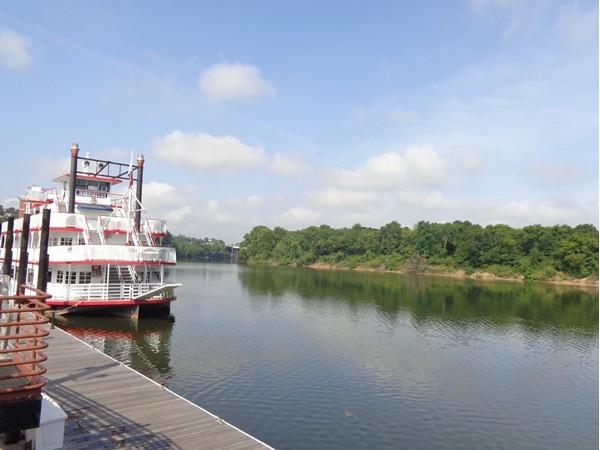 The Harriott II on the beautiful Alabama River