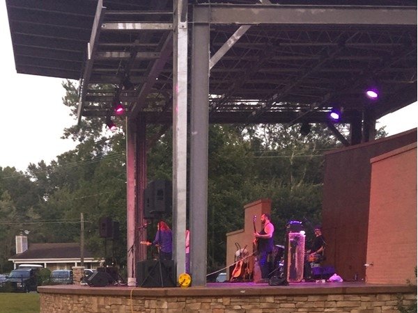 Live at Five Concert Series, Halstead Ampitheater