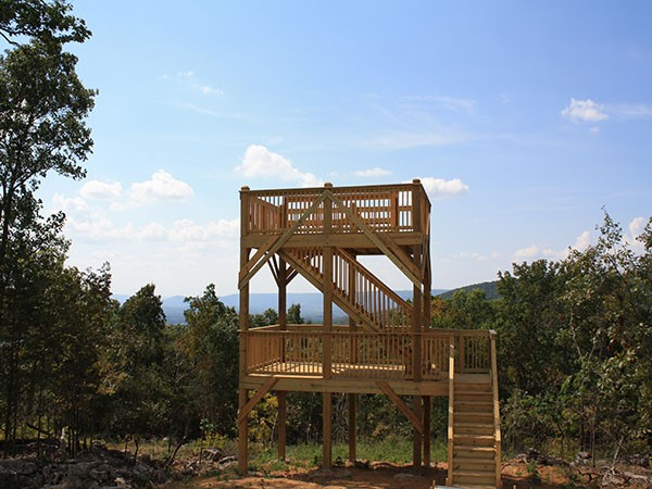 Check out this breathtaking view at Watson Grande Preserve in McMullen Cove viewing tower